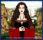 Portrait of Arwen Undomiel by Adoratia