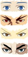 The Eyes of Kuroko no Basket by None-Nimby