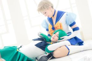 Sailor Neptune and Uranus @Katsucon 2012 -Preview by alucardleashed