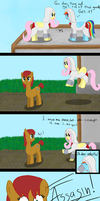 Fluttershy's Assasin Training Comics by BJsJunk