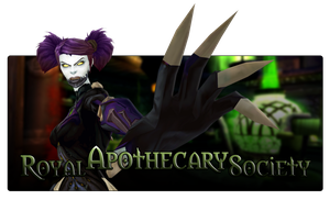 Royal Apothecary Society by Thinael