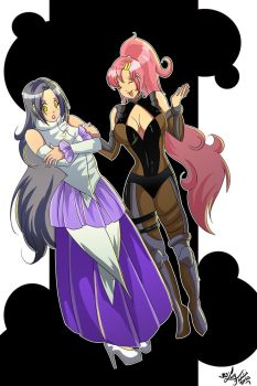 Sera And Lacus by lufidelis