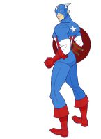 Captain America by Drawaholic1124