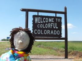 Plushie Felix in Colorful Colorado by hankinstein