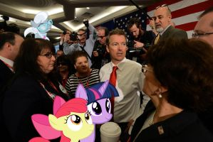 Rand Paul And The Ponies At The #FITN Summit by RicRobinCagnaan