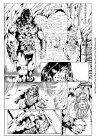 Red Sonja #72 pg 14 (INK) by johncastelhano