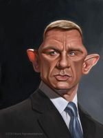 Daniel Craig by markdraws