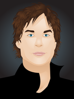 Ian Somerhalder by Leah-Sama