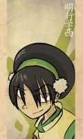 Toph Blind Bandit by razorface123