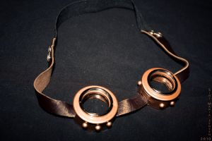 steampunk goggles by RestlessLynx