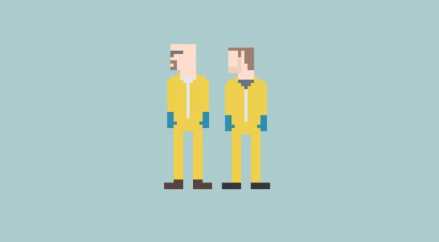 Breaking Bad 8-Bit by Al-Pennyworth
