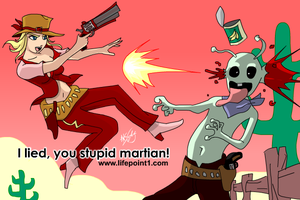 Stupid Martian by lifepoint1