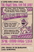 Mario Maker: The Right Tool For The Job by TheBourgyman