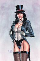 Zatanna by Leonardo colored by Dany-Morales
