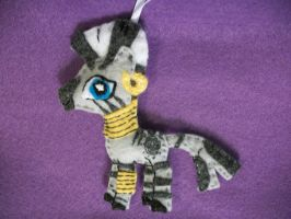 Zecora Handmade My Little Pony Ornament by grandmoonma