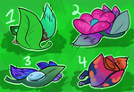 Vibrant Garden Surprise Adopts CLOSED by Chocodopts