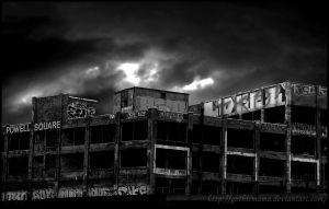 abandoned b w version by Gothicmama