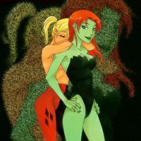 Harley and Ivy by HeroPix
