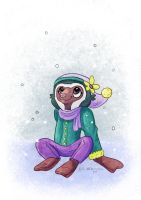 [Commission] Snow Day by BriMercedes