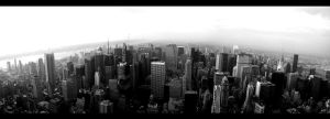 NYC skyline by XXI-VIII