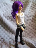 Turanga Leela Futurama BJD by mourningwake-press