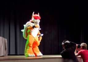 Bowser cosplay Desucon 5 by Grethe--B