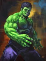 13 NoH day 4 Incredible Hulk by Grimbro