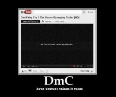 Youtube DmC Error by AncientKyuubi