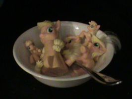 MLP FIM-Applejacks Cereal by KrazyKari