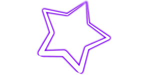 Purple Star PNG by SugarPaula