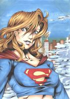 Supergirl 2.0 colour by Subordinance-Works
