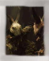 Criss Angel Demon Rabbits by FrEaKyOuRmInD13