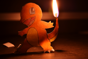 Charmander (attempt 1) by Natxii