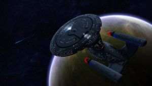 A Legend returns! U.S.S. Constellation NCC-1017-A by Knight3000