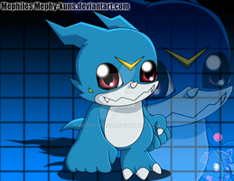Have no fear, Veemon is here! by Mephy-kuns