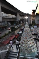 Recycled Xmas Tree by munchinees
