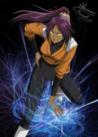Bleach: Yoruichi by ChAoTiC-Flames