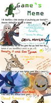 Game's Meme~ by Aradia617