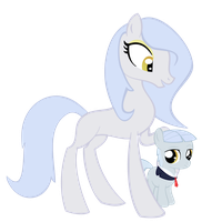 Mommy and Filly by thecoltalition