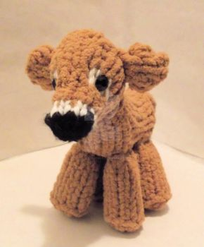 Loom Knitted Cow by ScarlettRoyale