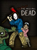 Cry Plays The Walking Dead by InvisibleCorpseGirl