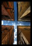 Sky from a city by colpewole