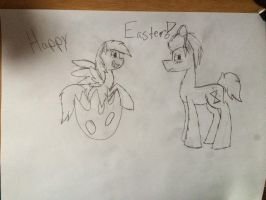 Happy Easter! by minecraftchick1579