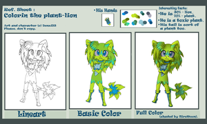 Colorin The Plant-Lion by VendedorMexicano