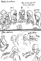 Chat Rooms Sketch by GingaAkam