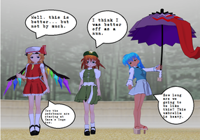 3 Touhou Cosplays updated by quamp