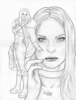 Emma Frost by browll