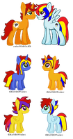 Cinema Magic x PrimaryRain Point Adoptables by Imborednstuff