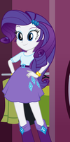 Equestria Girls - Rarity by Liggliluff