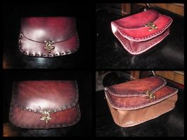 Belt bag, new version by akinra-workshop